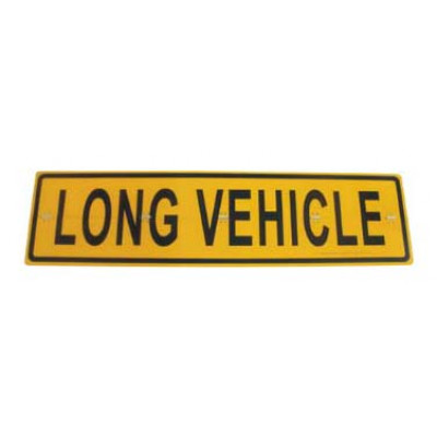 REFLECTIVE SIGNS - LONG VEHICLE (HINGED) 1200 x 300 Class II