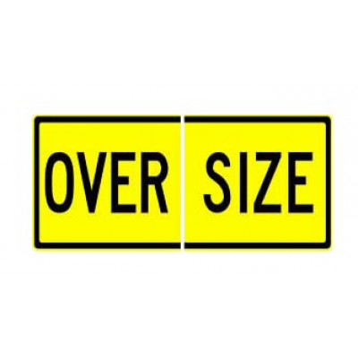 REFLECTIVE SIGNS - OVERSIZE (SPLIT) 1200 x 600 Class I