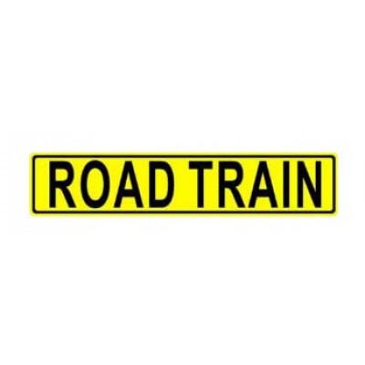REFLECTIVE SIGNS - ROAD TRAIN 1200 x 250 Class II