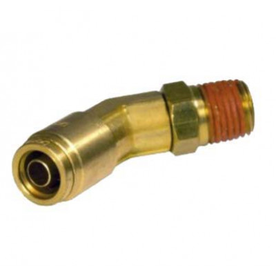 PUSH-IN MALE 45˚ ELBOW – SWIVEL TYPE - IMPERIAL TUBE TO IMPERIAL MALE THREAD