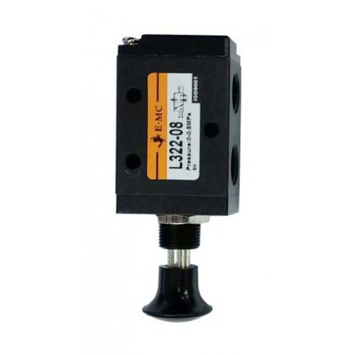 "PNEUMATIC VALVE - 3 PORT PUSH/PULL SWITCH 1/4"" PORT"