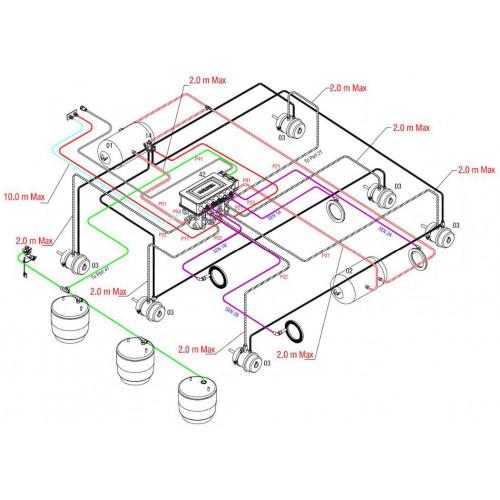 KETEC TRAILER KE KIT - TRI AXLE HALDEX EB+ GEN3 (AIR SUSP) on