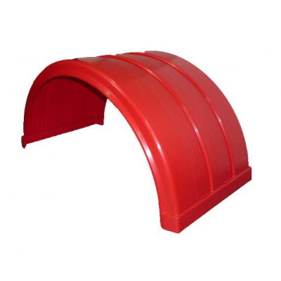 PLASTIC MUD GUARD - RED