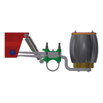 ROBUST SERIES OVERSLUNG AIR SUSPENSION FOR 10 TON AXLE (Z-SPRING)