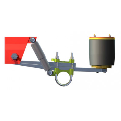 ROBUST SERIES OVERSLUNG AIR SUSPENSION FOR 10 TON AXLE