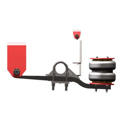 OVERSLUNG AIR SUSPENSION FOR 3 TON & ELECTRIC BRAKE AXLE