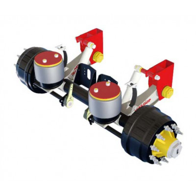 STABILITY+ SERIES OVERSLUNG AIR SUSPENSION FOR 10 TON AXLE