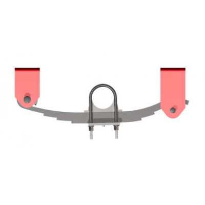 SINGLE AXLE SPRING SUSPENSION UNDERSLUNG 5-TON