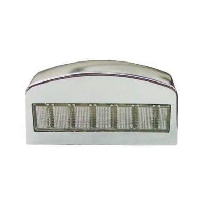 LICENCE PLATE LIGHT - SILVER