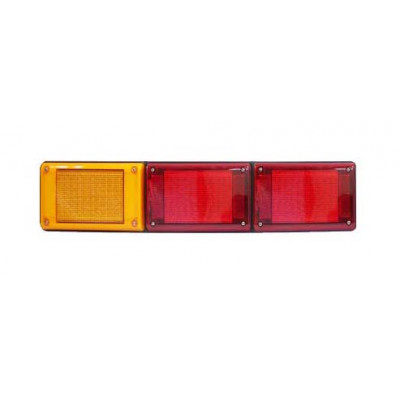 LED COMBINATION LIGHT - AMBER/RED/RED